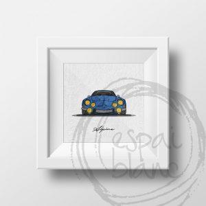 Lámina Renault Alpine