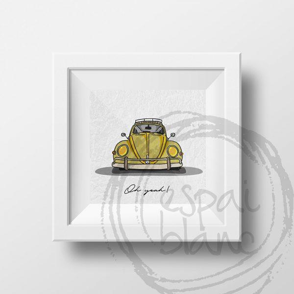 Lámina VW Beetle