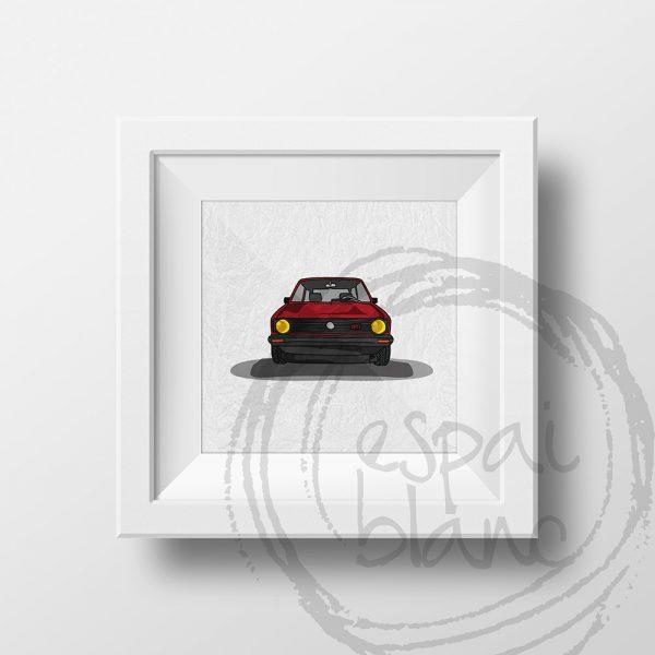 Lámina VW Golt MK1