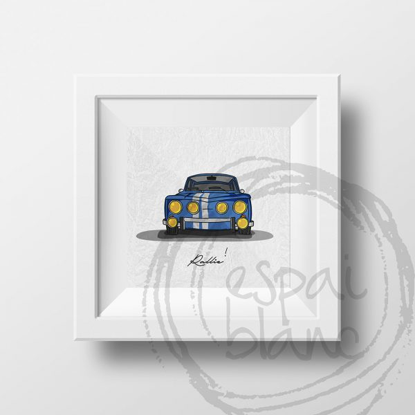 Lámina Renault 8 Gordini
