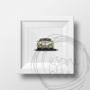 Lámina VW Karmann Ghia